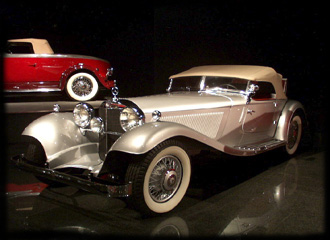 The Blackhawk Automotive Museum, Danville - 1934 Mercedes 380 K Sport Roadster