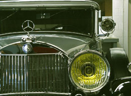 Grille of a Mercedes-Benz 770 K