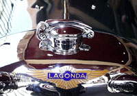 Radiatorcap of a Lagonda