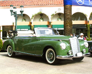 Mercedes-Benz Exhibition at Fashion Island - 1951 300 Cabriolet D