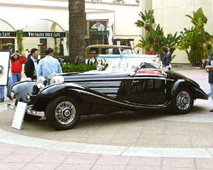 Mercedes-Benz Exhibition at Fashion Island - Mercedes 540 K Special Roadster