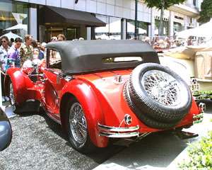 Concours on Rodeo 2000 - Mercedes-Benz Armbruster Cabriolet