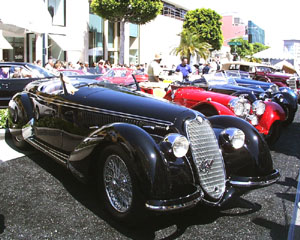 Concours on Rodeo 2000 - Alfa Romeo 8C 2900 B Touring Spyder