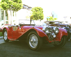 Concours on Rodeo 2000 - (Jaguar) SS 100