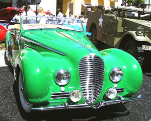 Concours on Rodeo 2000 - Delahaye 135 MS 'Vedette' Chapron Cabriolet