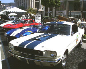 Concours on Rodeo 2000 - Shelby Mustang GT 350, Cobra 427 and Chevrolet Corvette L88