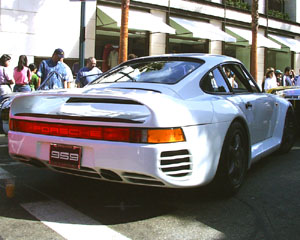 Concours on Rodeo 2000 - Porsche 959