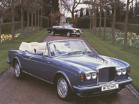 Elton John - 2 of his Bentley Convertibles