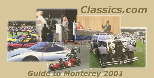 Classics.com Guide to the Monterey Weekend 2001