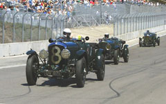 1929 Bentley Speed Six at the Monterey Historic Automobile Races 2001
