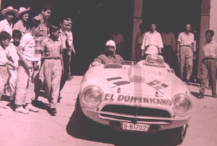 Pegaso Z-102 at the 1954 Carrera Panamericana
