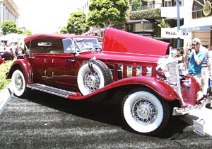 Concours on Rodeo 2001 - 1933 Chrysler LeBaron CL Touring Phaeton