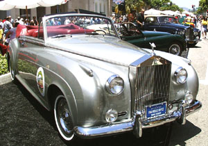 Concours on Rodeo 2001 - 1960 Rolls-Royce Silver Cloud II Convertible