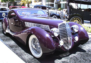 Concours on Rodeo 2001 - 1937 Delahaye 135 MS Figoni&Falaschi