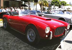 Concours on Rodeo 2001 - 1953 Siata 208 S