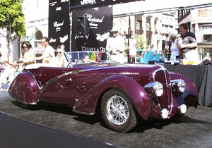 Concours on Rodeo 2001 - 1938 Delahaye 135 M Figoni&Falaschi Roadster