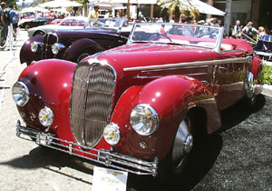 Concours on Rodeo 2001 - 1947 Delahaye 135 M Guillore Roadster