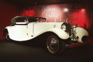 Million Dollar Cars at the Petersen Automotive Museum - 1931 Bugatti Type 41 La Royale Cabriolet