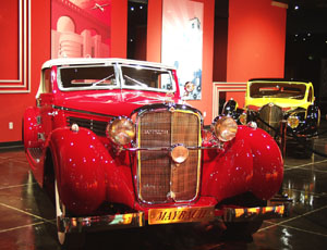 Million Dollar Cars at the Petersen Automotive Museum - 1939 Maybach SW 38 Special Roadster