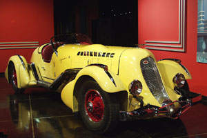 Million Dollar Cars at the Petersen Automotive Museum - Duesenberg SJ Special Mormon Meteor