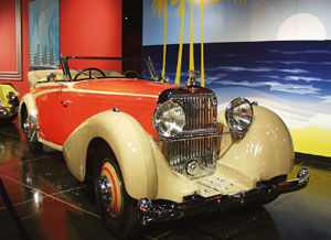 Million Dollar Cars at the Petersen Automotive Museum - 1934 Hispano-Suiza Type 68 J12 V-12 Cabriolet by Vanvooren