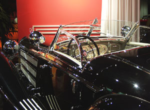 Million Dollar Cars at the Petersen Automotive Museum - 1937 Mercedes-Benz 540 K Special Roadster ex Jack Warner