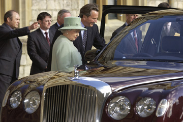 Queen Elizabeth -  Bentley State Limousine