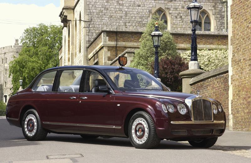Classics.com - Queen Elizabeth II new Bentley State Limousine