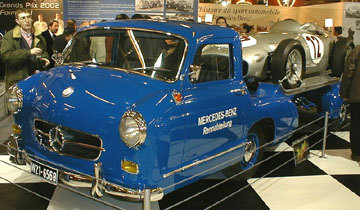 Retromobile 2002 - Mercedes-Benz Renntransporter