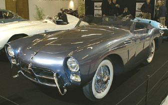 R�tromobile 2002 - 1953 Pegaso Cabriolet with a body by Saoutchik