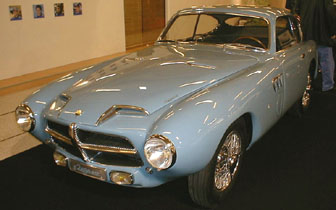R�tromobile 2002 - 1953 Pegaso Berlinetta Biposto designed by Touring