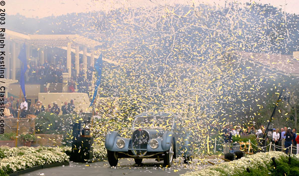 The Pebble Beach Concours d'Elegance 2003 - Best of Show