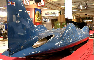 R�tromobile 2003 - 1963 Bluebird CN7 Proteus Donald Campbell World Speed Record Vehicle
