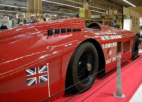 R�tromobile 2003 - 1927 Sunbeam 1000 hp Henry Seagrave World Speed Record Vehicle