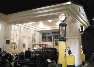 early Service Station