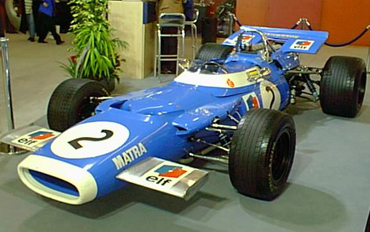 Matra MS 80 Formula One Jackie Stewart